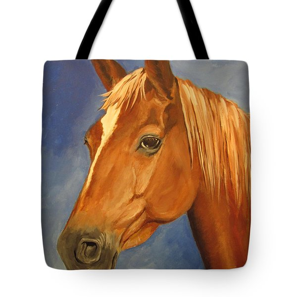 Victor Tote Bag by Carol Hart