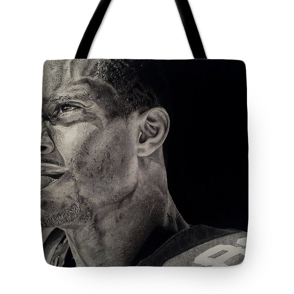 Victor Cruz Drawing Tote Bag