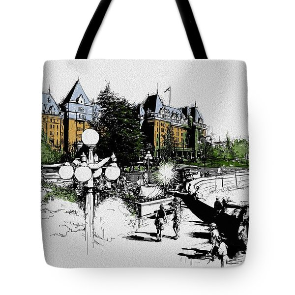 Victoria Art 001 Tote Bag by Catf