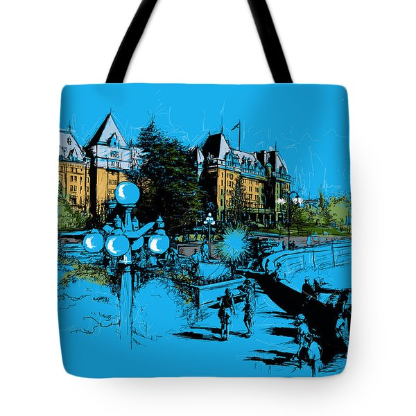 Victoria Art 002 Tote Bag by Catf
