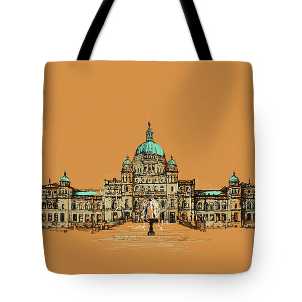 Victoria Art 005 Tote Bag by Catf