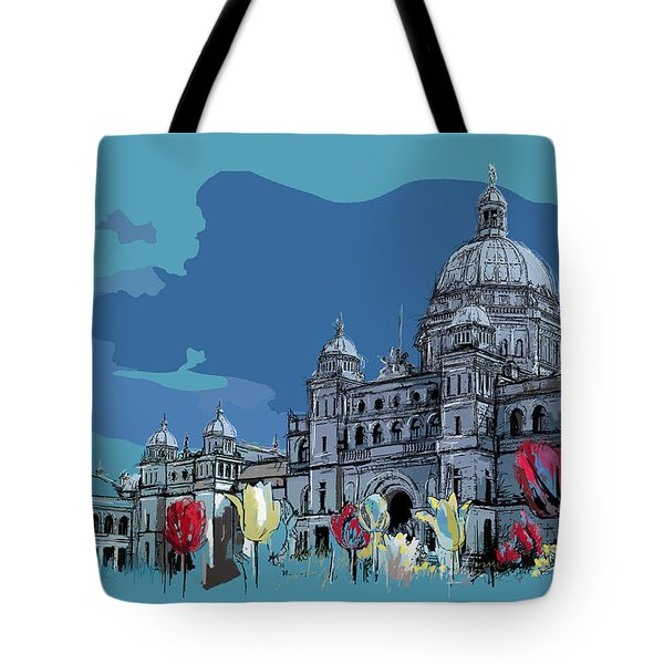 Victoria Art 007 Tote Bag by Catf