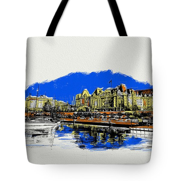 Victoria Art 011 Tote Bag by Catf