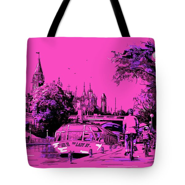 Victoria Art 012 Tote Bag by Catf