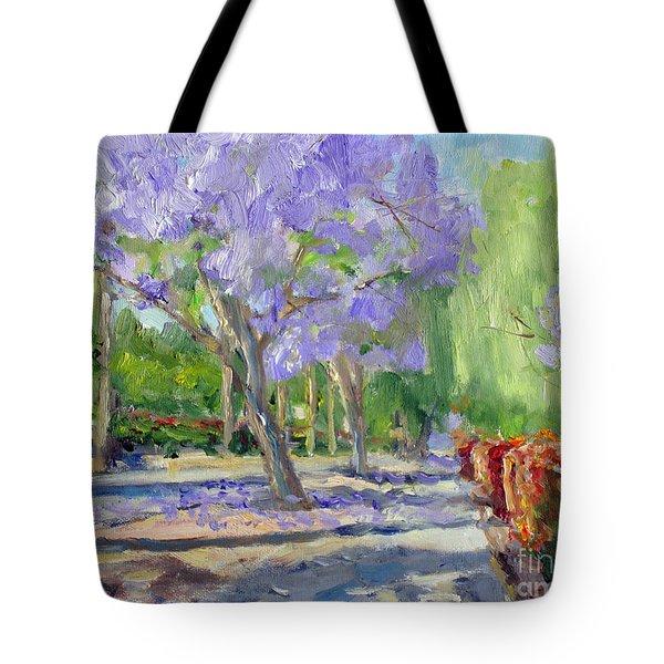 Victoria  Avenue Walkway Tote Bag
