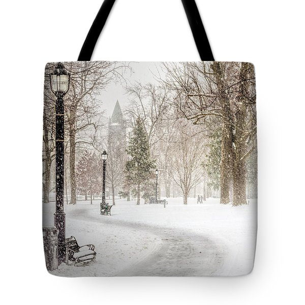Tote Bag featuring the photograph Victoria Park by Garvin Hunter