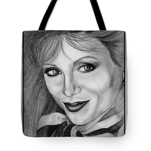 Victoria Principal In 1983 Tote Bag by J McCombie