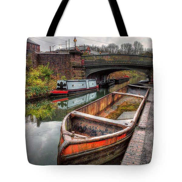 Victorian Canal Tote Bag by Adrian Evans