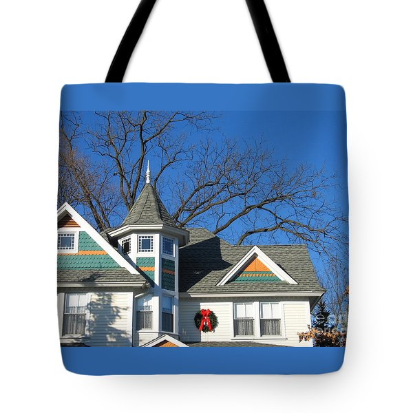 Victorian Christmas Tote Bag by Ann Horn