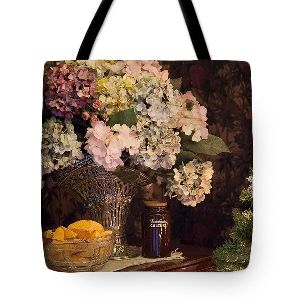 Tote Bag featuring the photograph Victorian Christmas by Patricia Babbitt