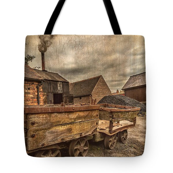 Victorian Colliery Tote Bag by Adrian Evans