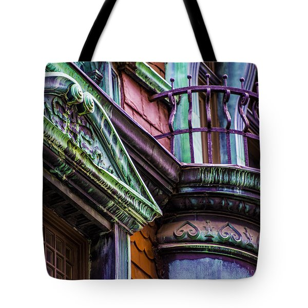 Victorian Color Tote Bag by Raymond Kunst