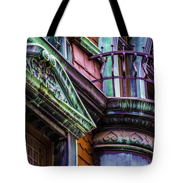 Victorian Color Tote Bag