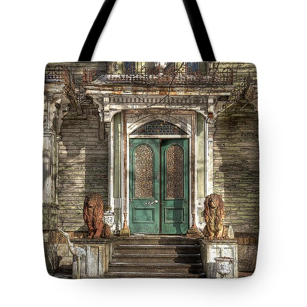 Victorian Entry Tote Bag