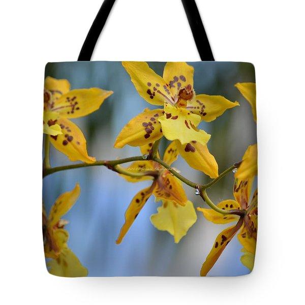 Victorian Exotic Blooms  Tote Bag by Sonali Gangane
