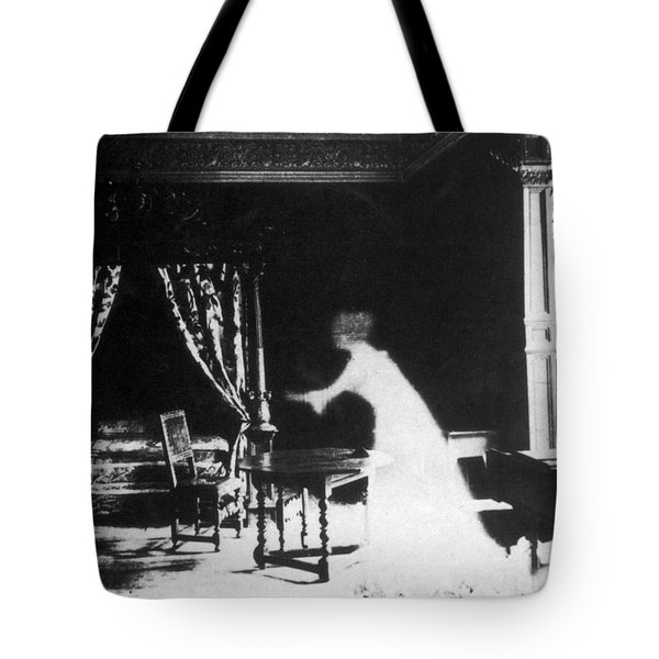 Victorian Ghost 19th Century Tote Bag