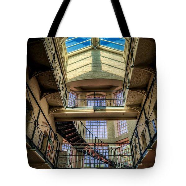 Victorian Jail Tote Bag by Adrian Evans