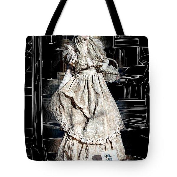 Victorian Lady Tote Bag by John Haldane