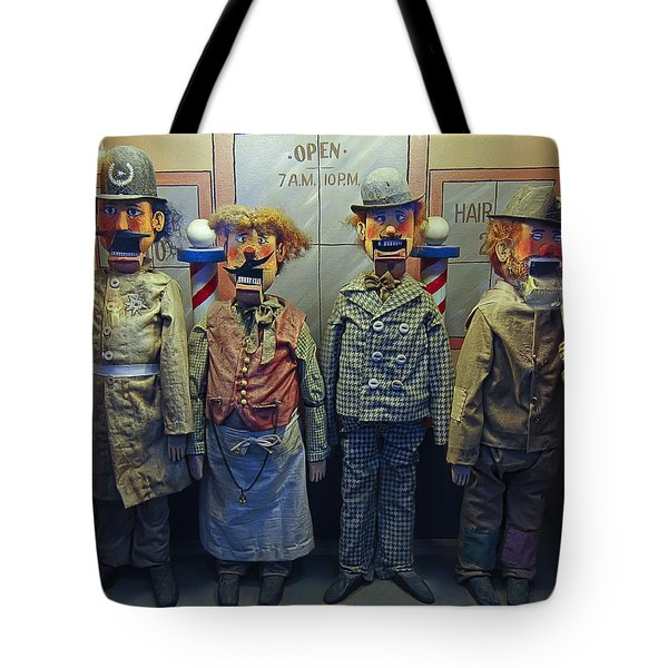 Victorian Musee Mecanique Automated Puppets - San Francisco Tote Bag by Daniel Hagerman