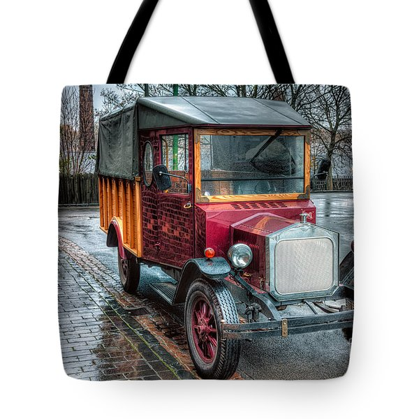 Victorian Replica Tote Bag by Adrian Evans