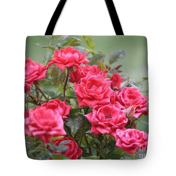 Victorian Rose Garden Tote Bag by Carol Groenen