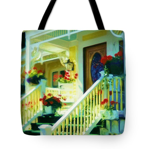 Victorian Sunshine Tote Bag