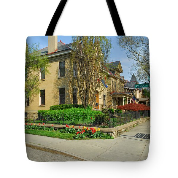 D47l-15 Victorian Village Photo Tote Bag