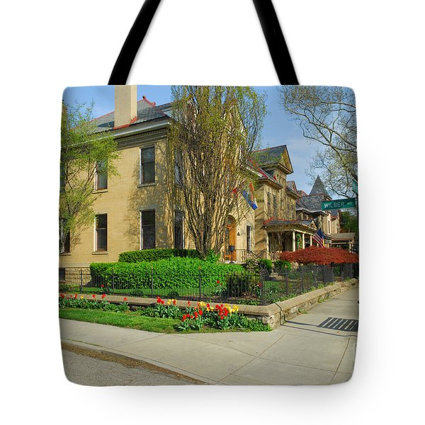 D47l-15 Victorian Village Photo Tote Bag