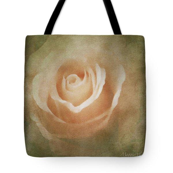 Victorian Vintage Pink Rose Tote Bag
