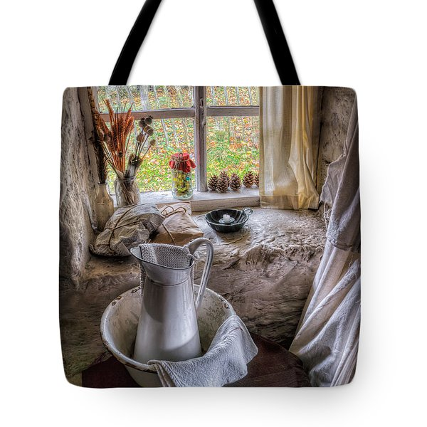 Victorian Wash Area Tote Bag by Adrian Evans