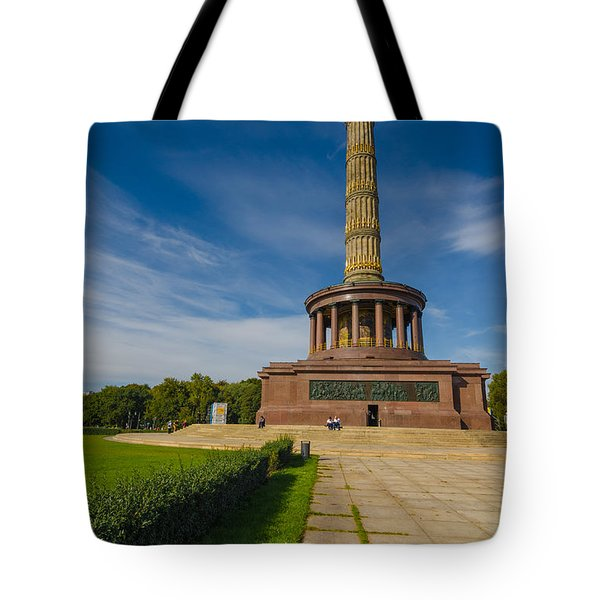 Victory Column Tote Bag