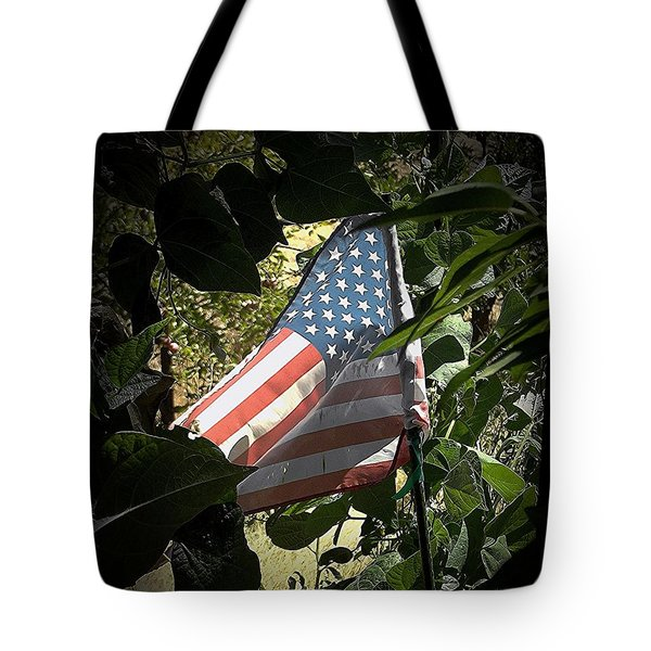 Tote Bag featuring the photograph Victory Garden by Andrew Drozdowicz