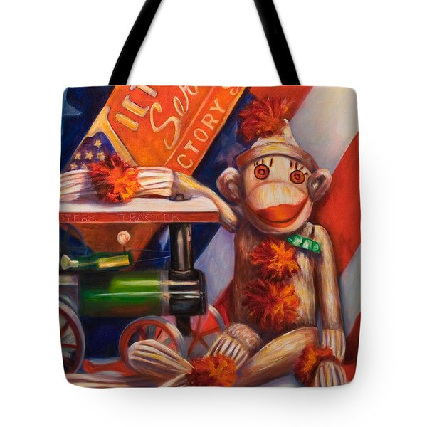 Victory Tote Bag by Shannon Grissom