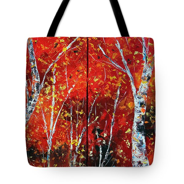 Victory's Sacrifice Tote Bag by Meaghan Troup