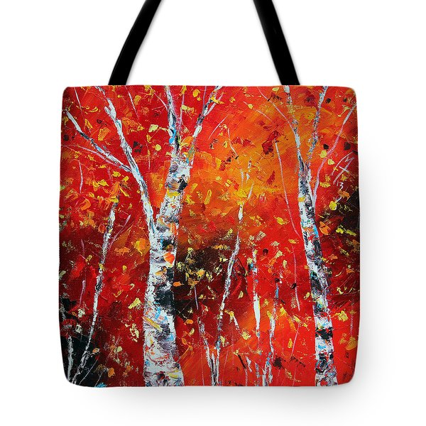 Victory's Sacrifice Panel Two Tote Bag by Meaghan Troup