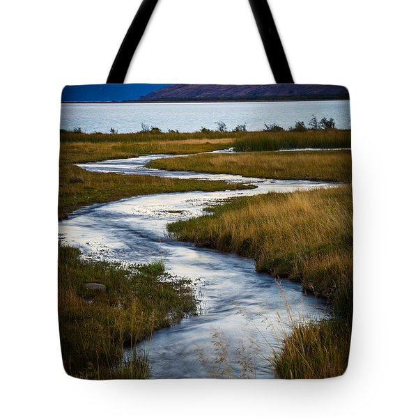 Viedma Creek Tote Bag