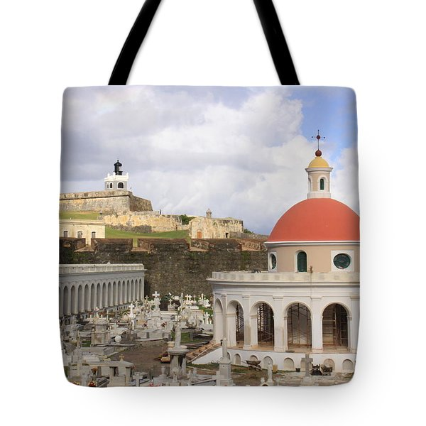 Viejo San Juan Tote Bag by Daniel Sheldon