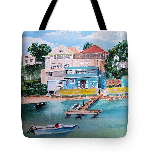 Vieques Puerto Rico Tote Bag