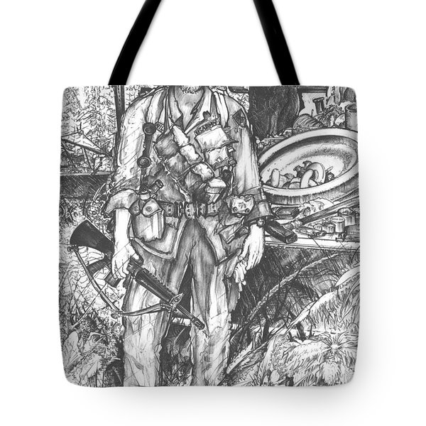 Vietnam Soldier Tote Bag