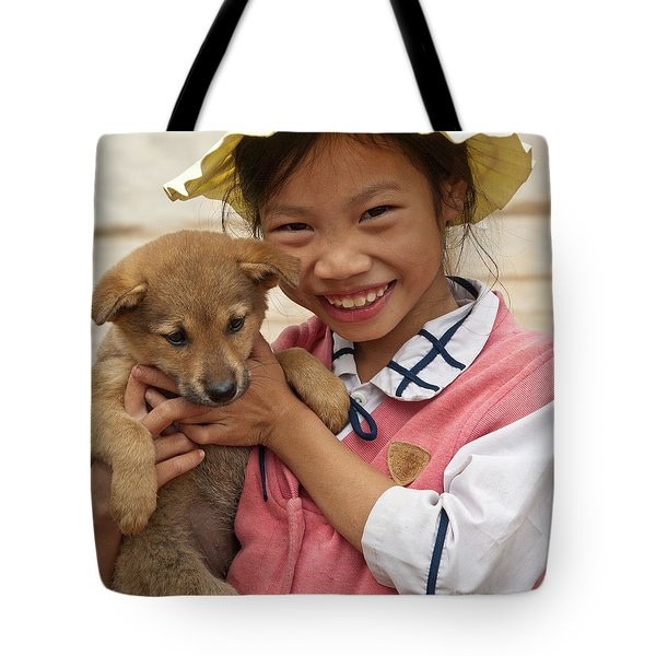 Vietnamese Girl 02 Tote Bag