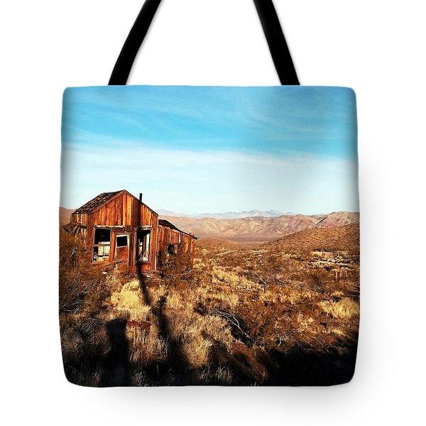 View Estate - Randsburg California Tote Bag