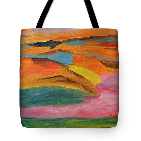 View From Above Tote Bag by Meryl Goudey
