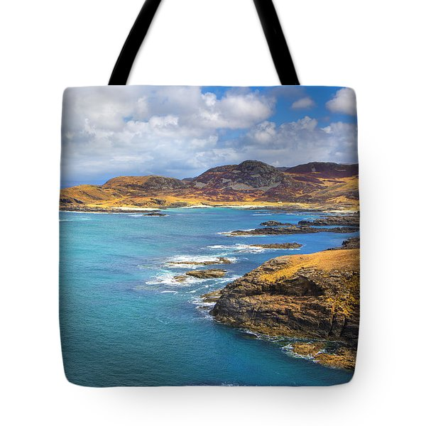 View From Ardnamurchan Tote Bag by David Hare