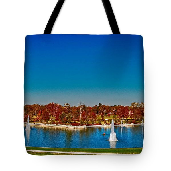 View From Art Hill Forest Park Missouri Tote Bag