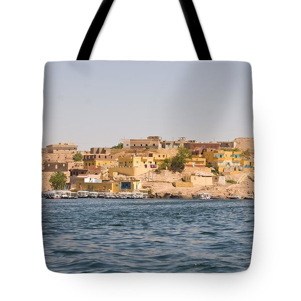 View From Boat Tote Bag