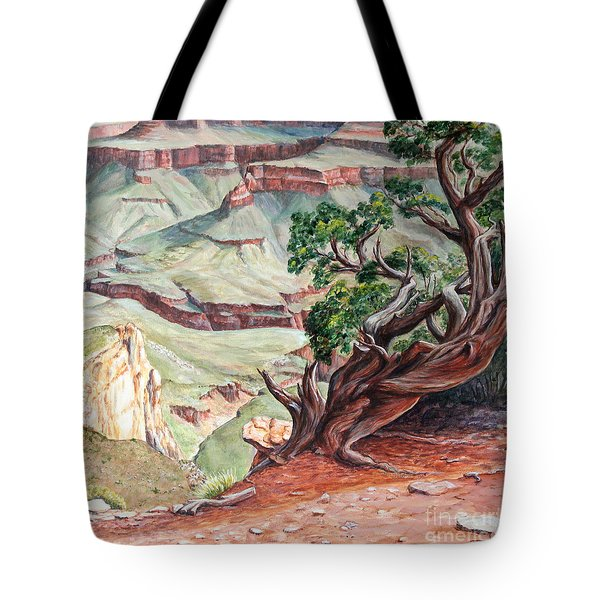 View From Cedar Ridge Trail Tote Bag