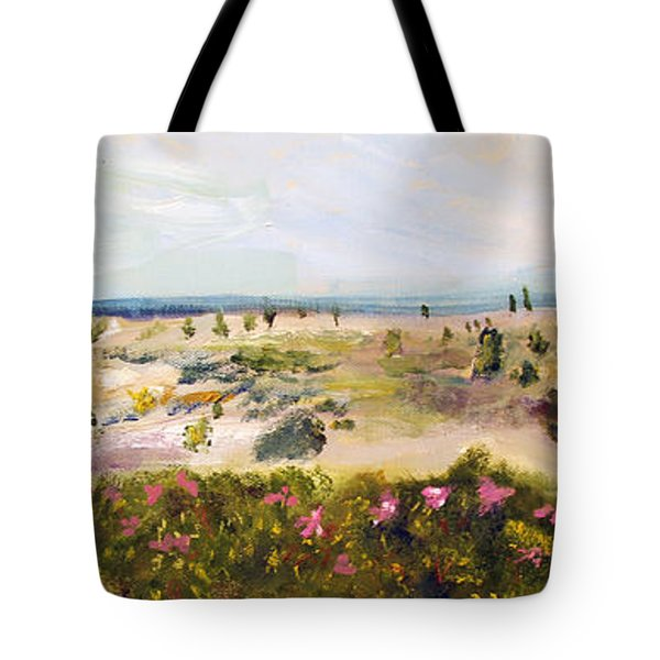 View From Edgartown Light Tote Bag