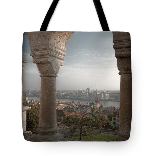 View From Fishermans Bastion Tote Bag