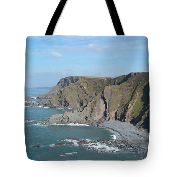 Higher Sharpnose Point Tote Bag by Richard Brookes