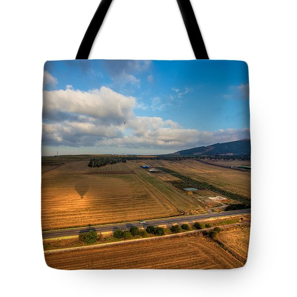 View From Hot Air Balloon Tote Bag